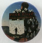 Pink Floyd - 'Delicate Sound of Thunder' 32mm Badge